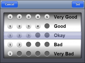 Rating Preset with Grades + Text