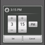 Timepicker on Android 2.2
