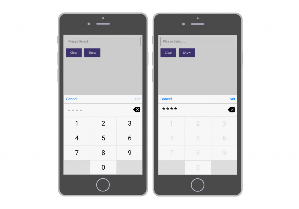 See an interactive demo of Passcode Entry